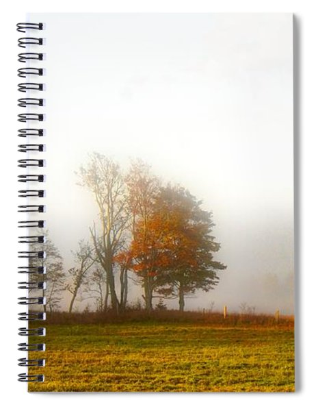 Field Of The Morn Spiral Notebook