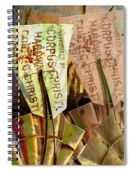 Field Of Windmills Spiral Notebook