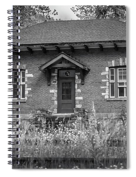 Field Telegraph Station Spiral Notebook