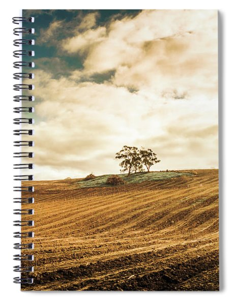 Fields Of Tasmanian Agriculture Spiral Notebook