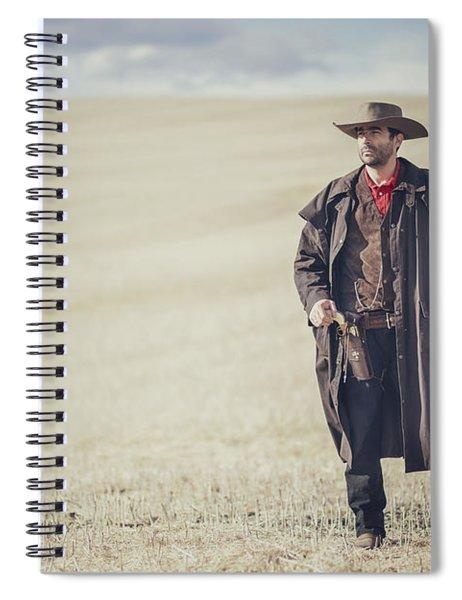 Fields Of Yesterday Spiral Notebook