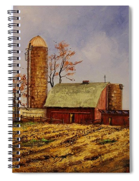 Fields Ready For Fall Spiral Notebook
