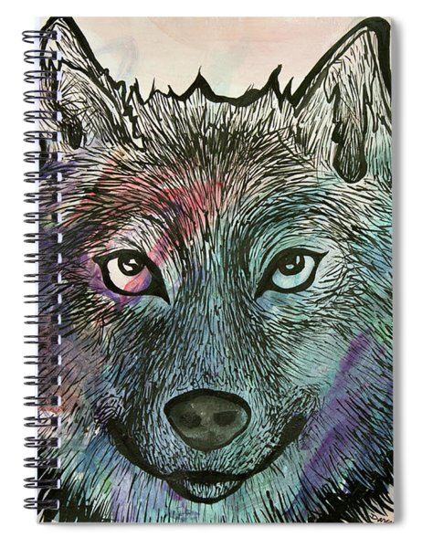 Fierce And Wise Spiral Notebook
