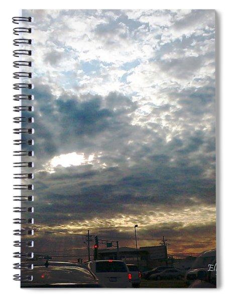 Fierce Skies Spiral Notebook
