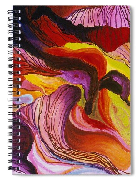 Fiesta De Les Flores Spiral Notebook