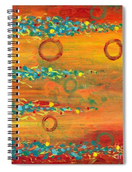 Fiesta Painting Spiral Notebook