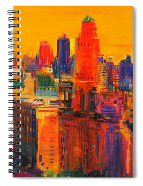 Fifth And Madison Spiral Notebook