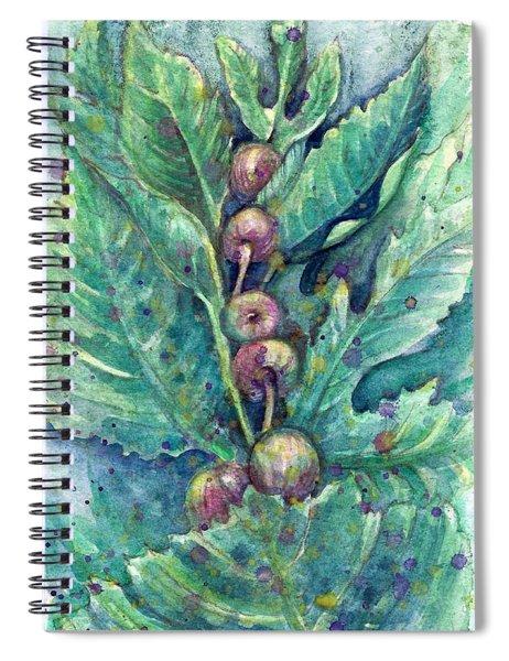 Figful Tree Spiral Notebook