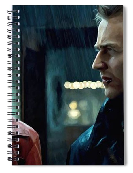 Fight Club #1 Large Size Painting Spiral Notebook
