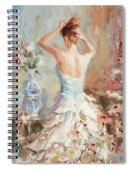 Figurative II Spiral Notebook
