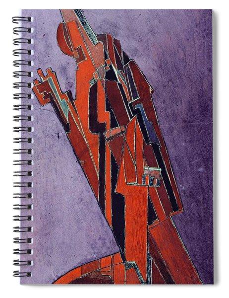 Figure Study Design For Sculpture Spiral Notebook