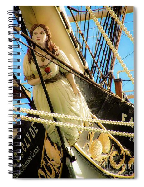 Figurehead - Falls Of Clyde Spiral Notebook