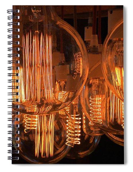 Filaments Spiral Notebook