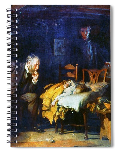 Fildes The Doctor 1891 Spiral Notebook