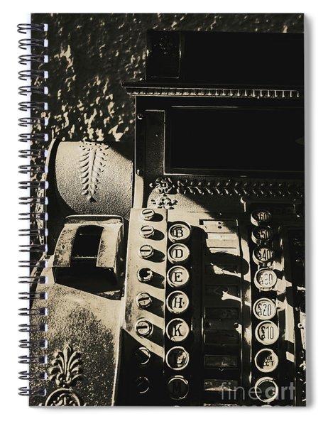 Film Noir Cashier Spiral Notebook