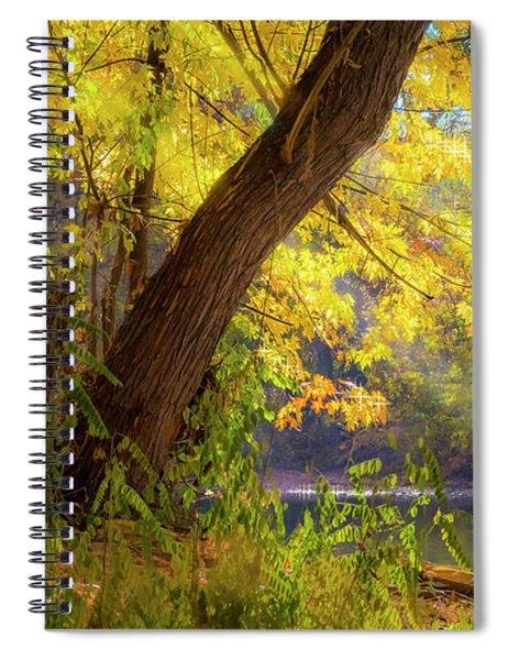 Filtered Light 2 Spiral Notebook