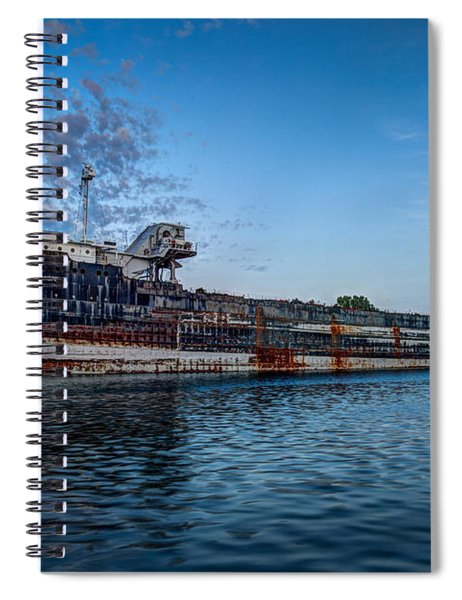 Final Mooring For The Algoma Transfer Spiral Notebook