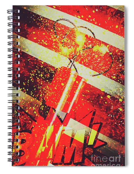 Financial Meltdown Coming Soon Spiral Notebook