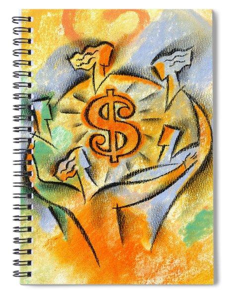 Financial Success Spiral Notebook