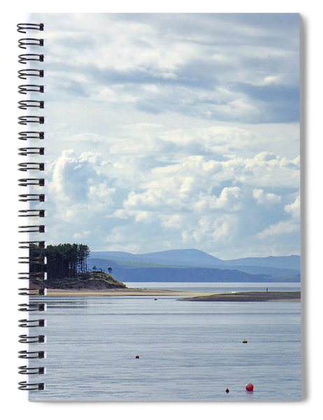 Findhorn Bay - Moray Firth Spiral Notebook