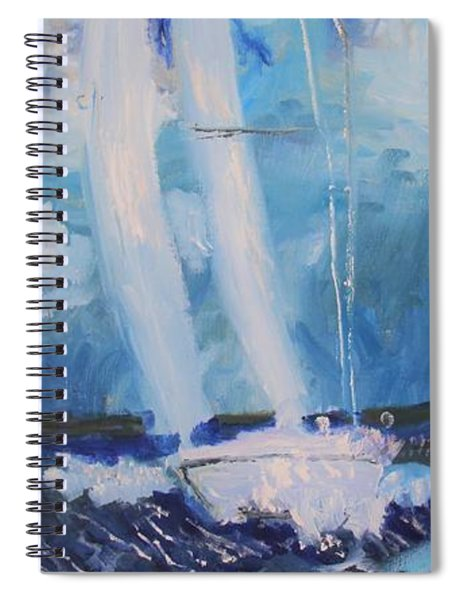 Finding My Groove Spiral Notebook