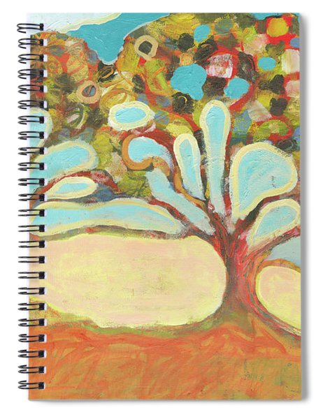 Finding Strength Together Spiral Notebook by Jennifer Lommers