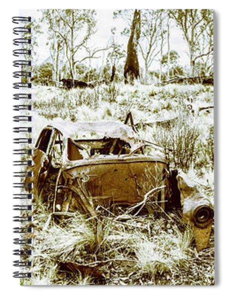 Fine Art Tasmania Bushland Spiral Notebook