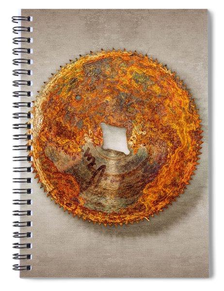 Fine Tooth Sawblade Spiral Notebook