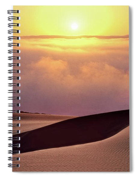 Finge Benefits Spiral Notebook