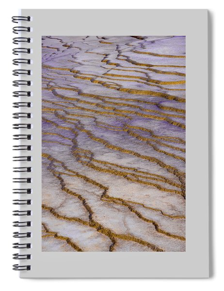 Fingerprint Of The Earth Spiral Notebook