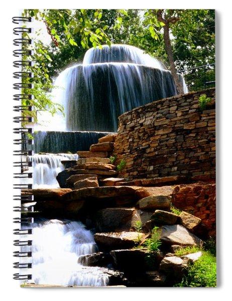 Finlay Park Columbia Sc Summertime Spiral Notebook