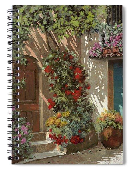 Fiori In Cortile Spiral Notebook