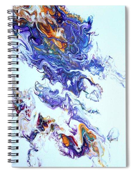 Fire Ball Spiral Notebook