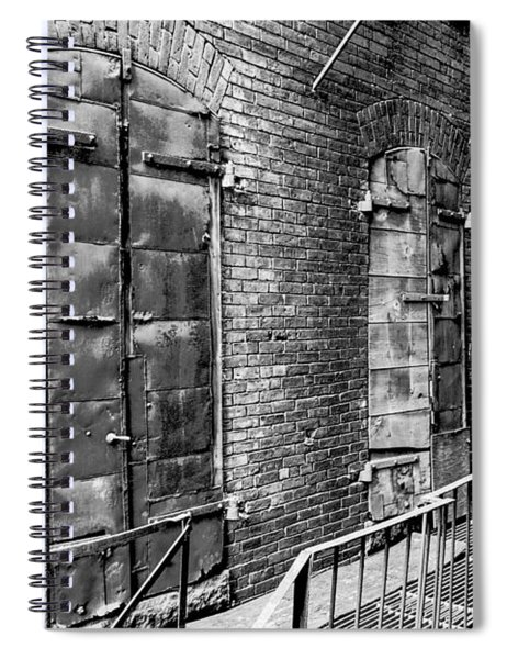 Fire Escape And Doors Spiral Notebook