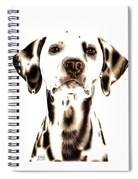 Fire Fighter's Best Friend Spiral Notebook