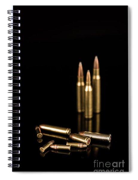 Fire Off Your Guns Spiral Notebook