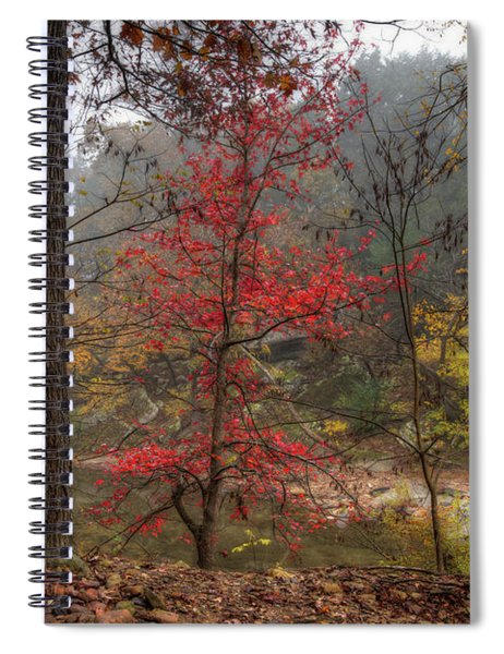 Fire On The Backroads Spiral Notebook