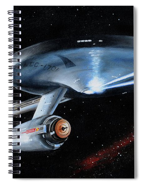 Fire Phasers Spiral Notebook