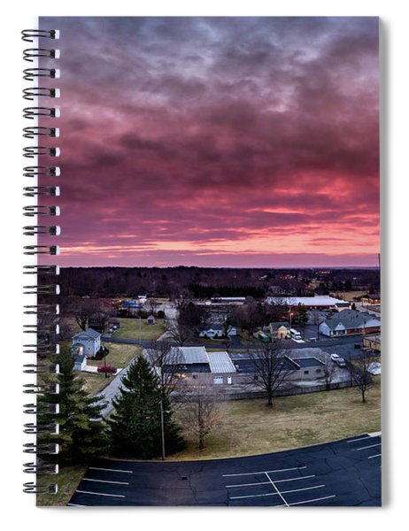 Fire Sky Spiral Notebook