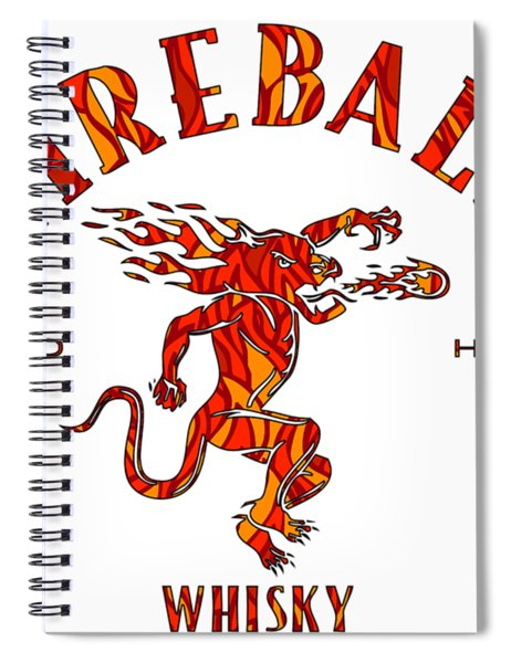 Fireball 1 Spiral Notebook