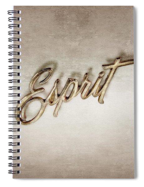 Firebird Esprit Chrome Emblem Spiral Notebook