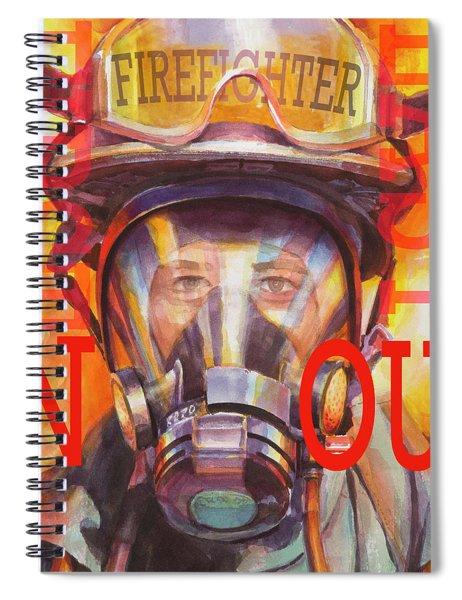Firefighter Spiral Notebook