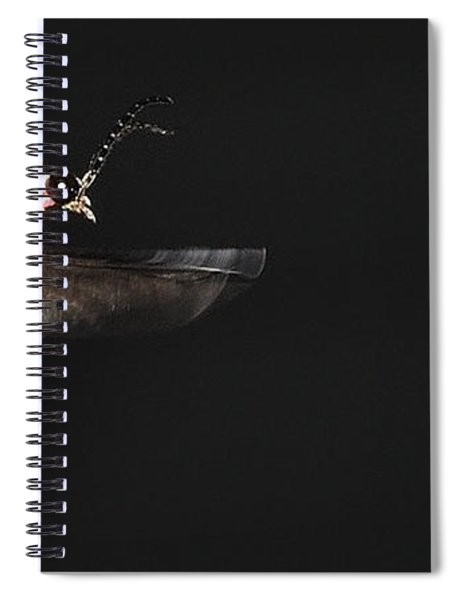 Firefly In Flight Spiral Notebook