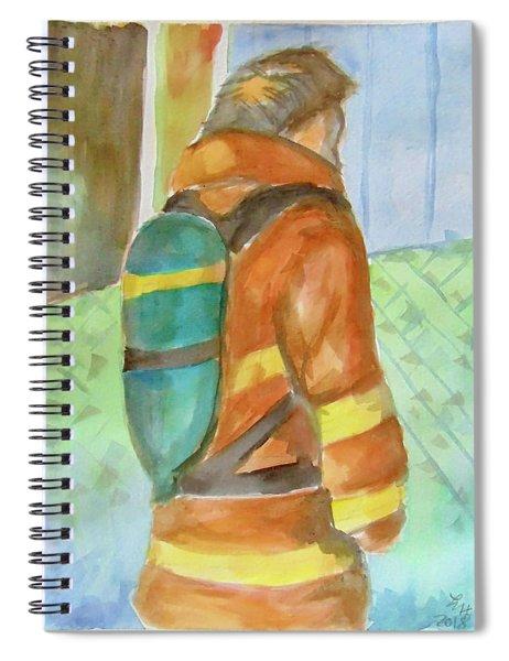 Fireman Spiral Notebook