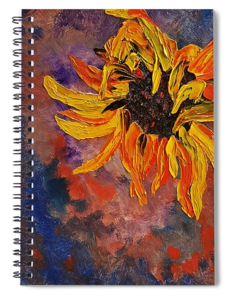 Firespace Flower  27 Spiral Notebook
