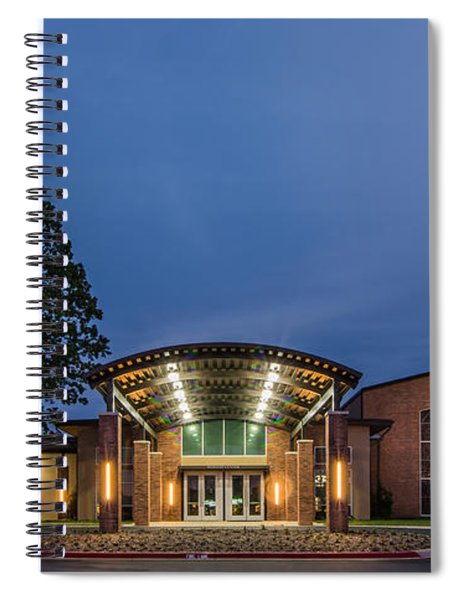 First Christian Church Tyler Texas Spiral Notebook