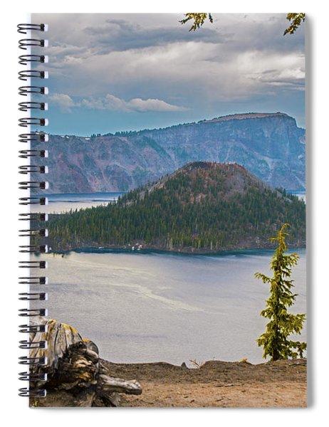 First Crater View Spiral Notebook