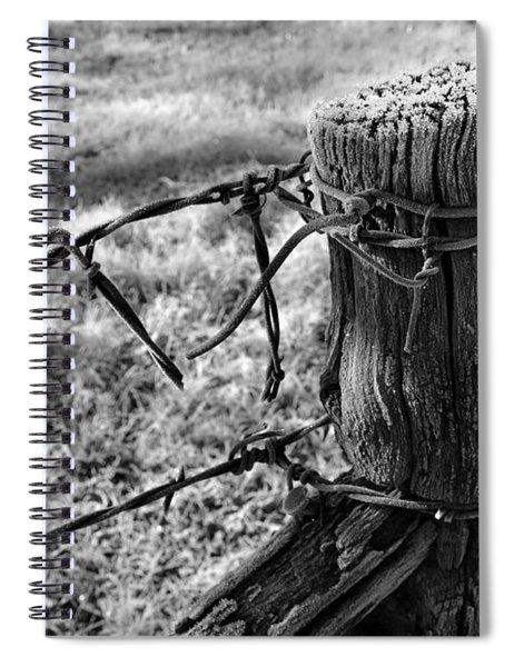 First Frost Spiral Notebook