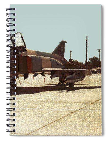 First Jet Spiral Notebook