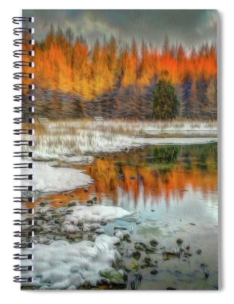 First Light At 3 Springs Spiral Notebook